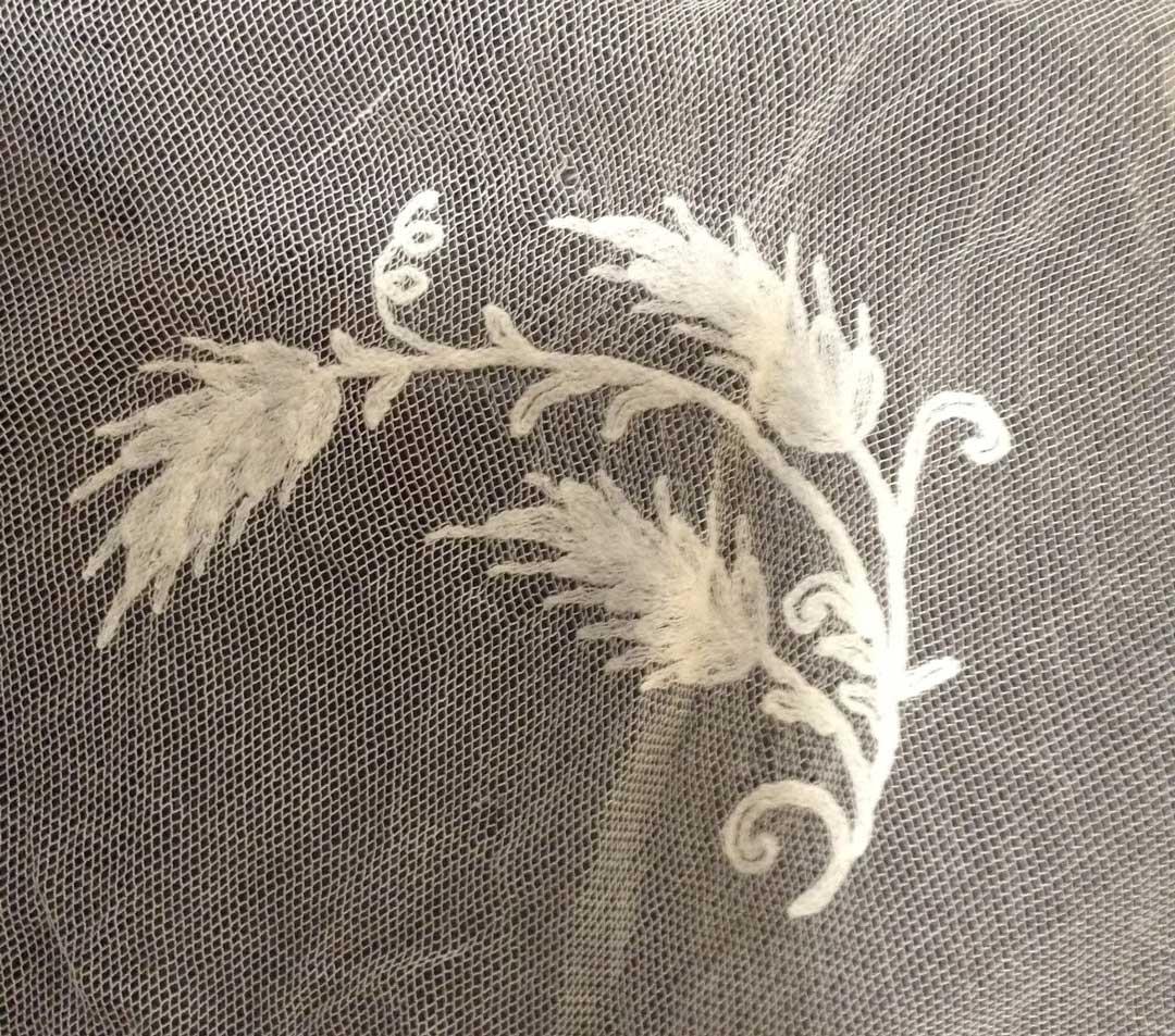 ecclesiastical lace, wheat motif