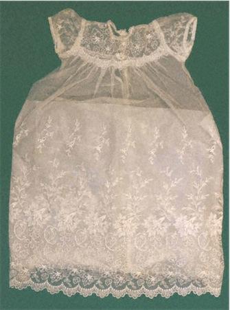 Limerick Lace. Child's Dress