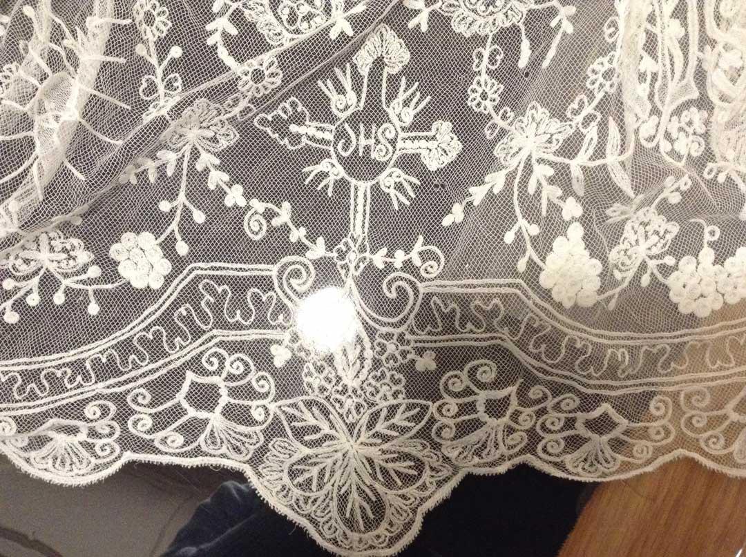 ecclesiastical lace