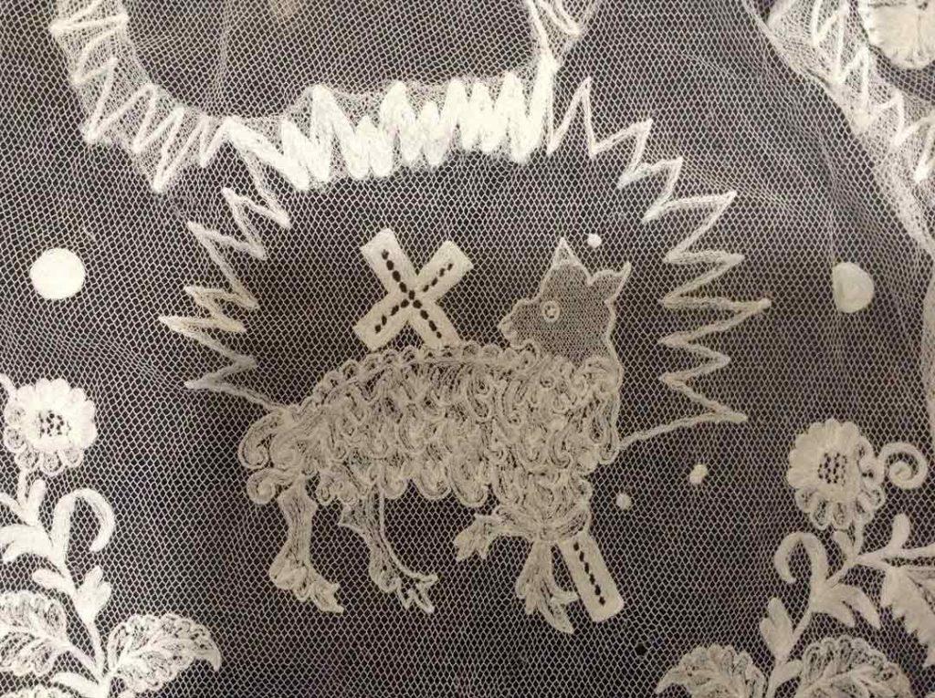 Lace Lamb of God